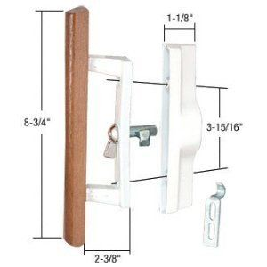 Sliding Glass Patio Door Handle Set With Internal Lock For Viking Doors 3 15 16 Screw Holes Non Ke Sliding Glass Door Sliding Glass Doors Patio Door Handles