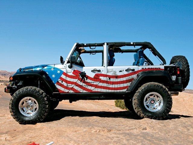 Are Jeeps Safe >> Patriotic Jeeps On Public Safety Jeeps Blue Jeep Jeep