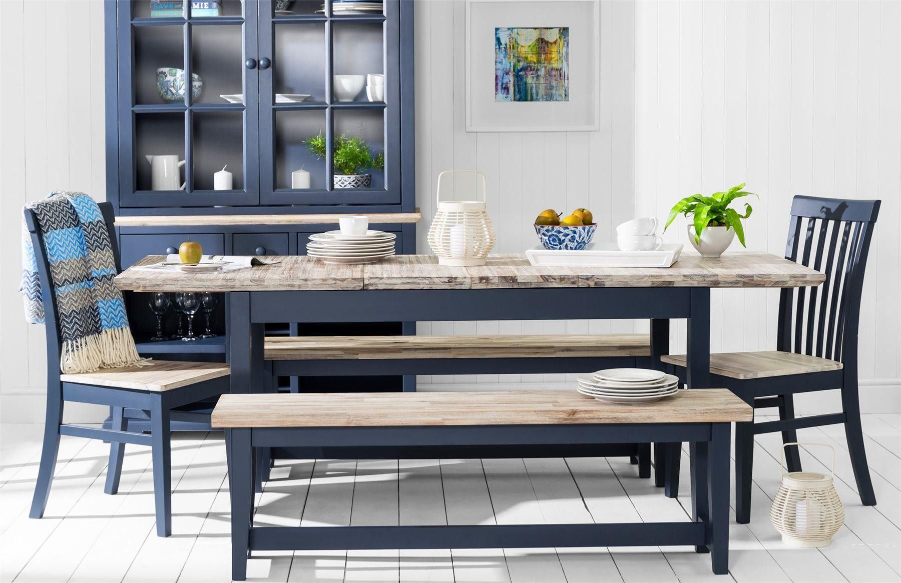 florence large rectangular centre extension kitchen table