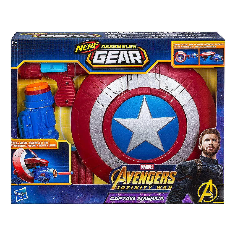 timeless design 41cb6 f4d97 Hasbro Marvel Avengers - Assembler Gear Captain America ...