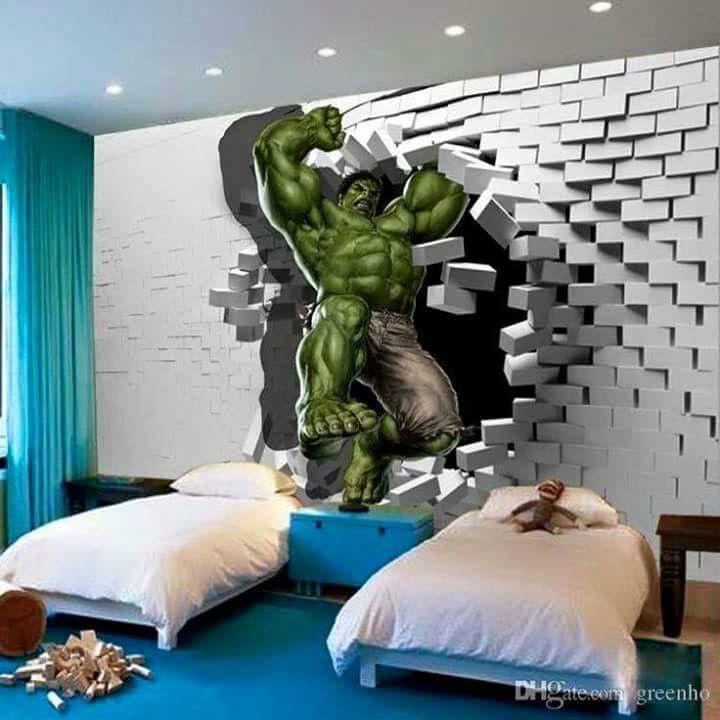 Pin de diala menjivar en dise o en paredes pinterest for Dormitorio ninos diseno