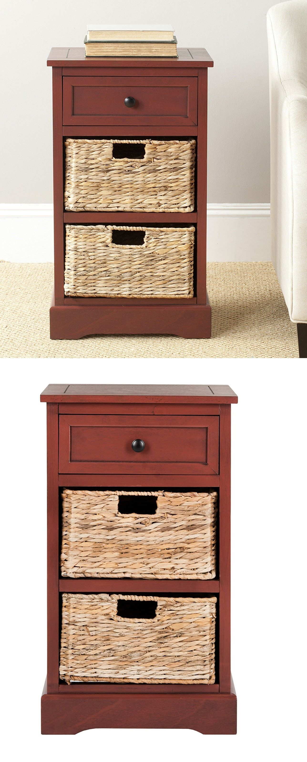 carrie side storage side table storage easy storage and drawers