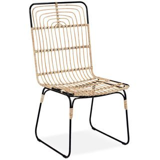 Entwine Rattan Arm Chair | American Signature Furniture