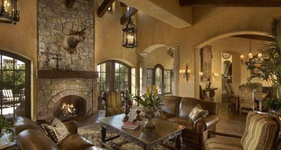 Superbe Great Rustic Living Room