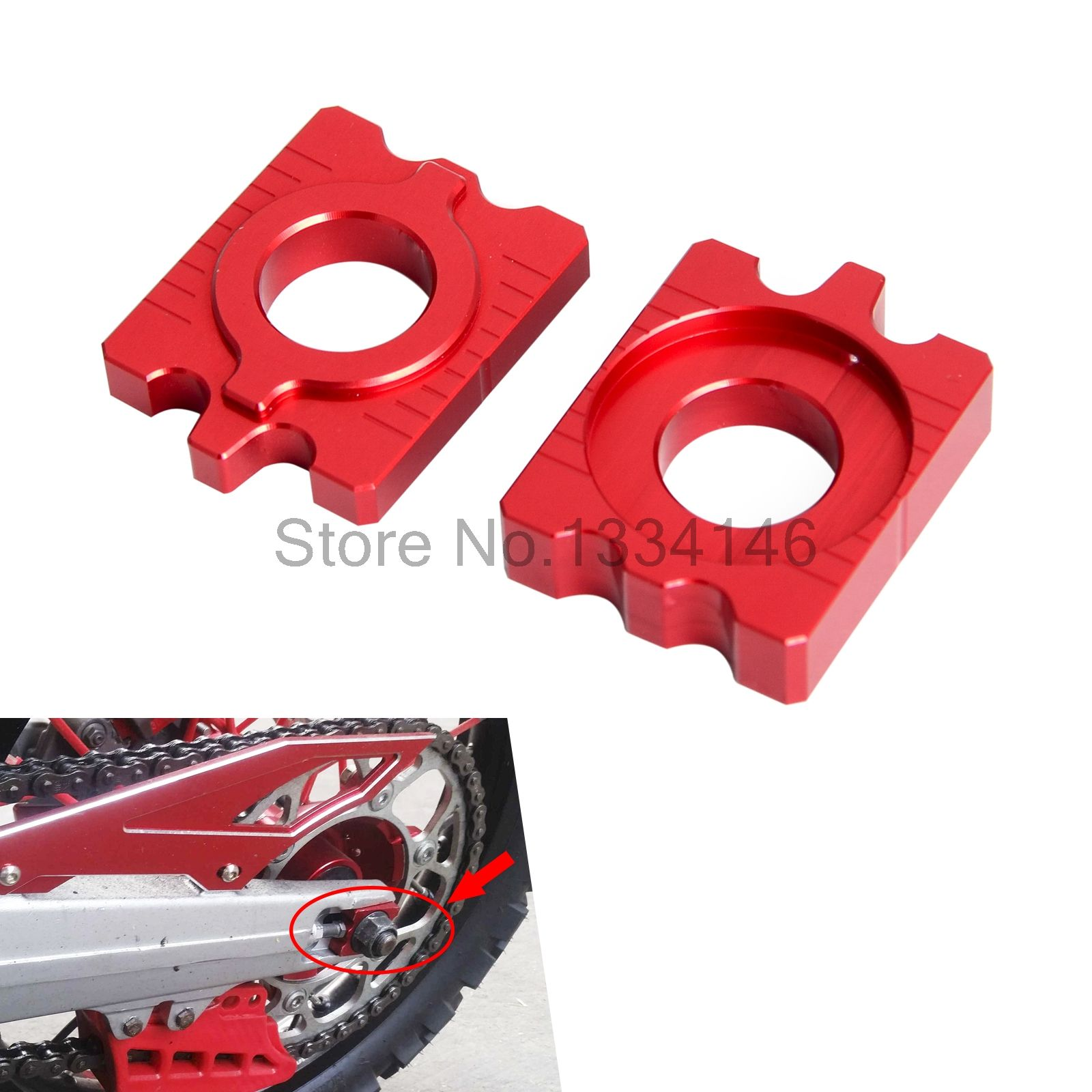 Rear Axle Block Chain Adjuster For Honda Crf250l Crf250m 2012 2015