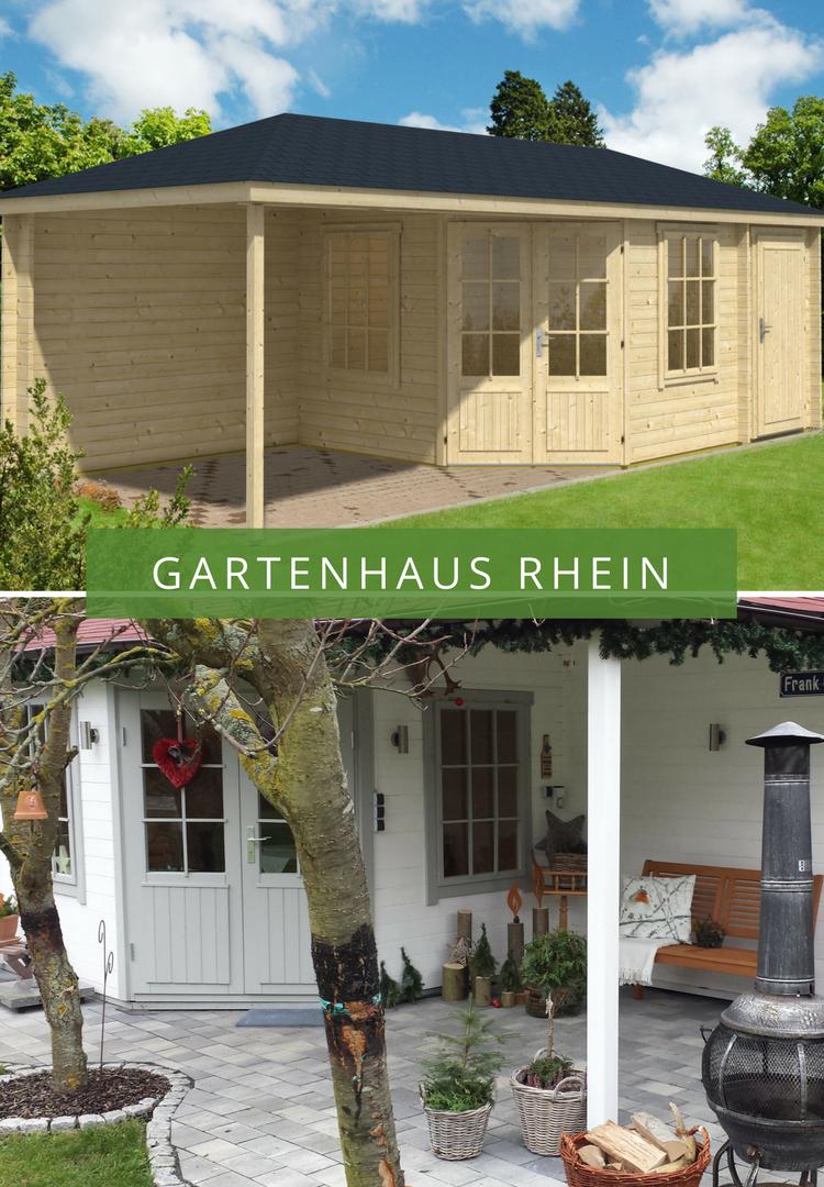 Gartenhaus Rhein Mit Anbau Und Uberdachter Terrasse Eignet Sich Sowohl Fur Die Aufbewahrung Von Gartengeraten Al Anbau Gartenhaus Gartenhaus 5 Eck Gartenhaus