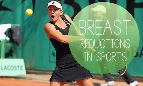 Recently, professional tennis star Simona Halep revealed that she had undergone breast reduction surgery to help her on the tennis court as well as combat lower back pain.  http://www.coastalempireplasticsurgery.com/Blog/are-breast-reductions-giving-women-the-competitive-edge