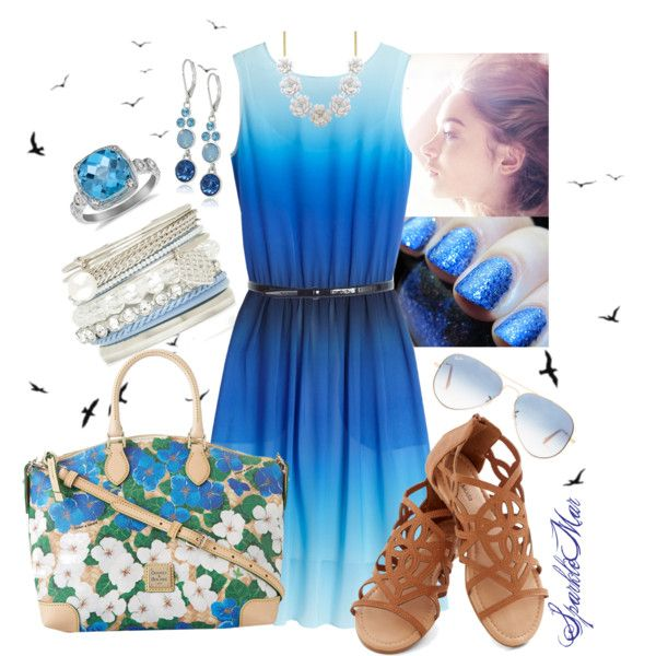 """""""Ocean Breeze"""" by sparklemar on Polyvore"""