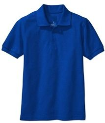 8558e442 Wholesale Toddler Short Sleeve School Uniform Polo Shirt Royal Blue -  Wholesale Price: $4.75 Case Price for 36 Shirts: $171.00