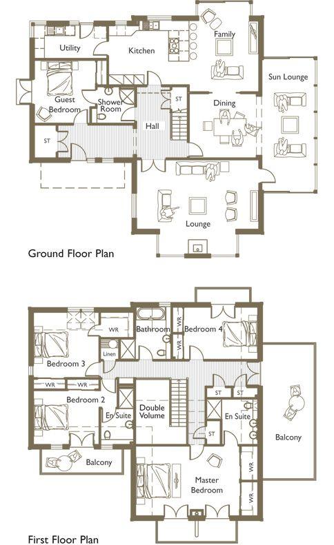 7 bedroom house floor plans