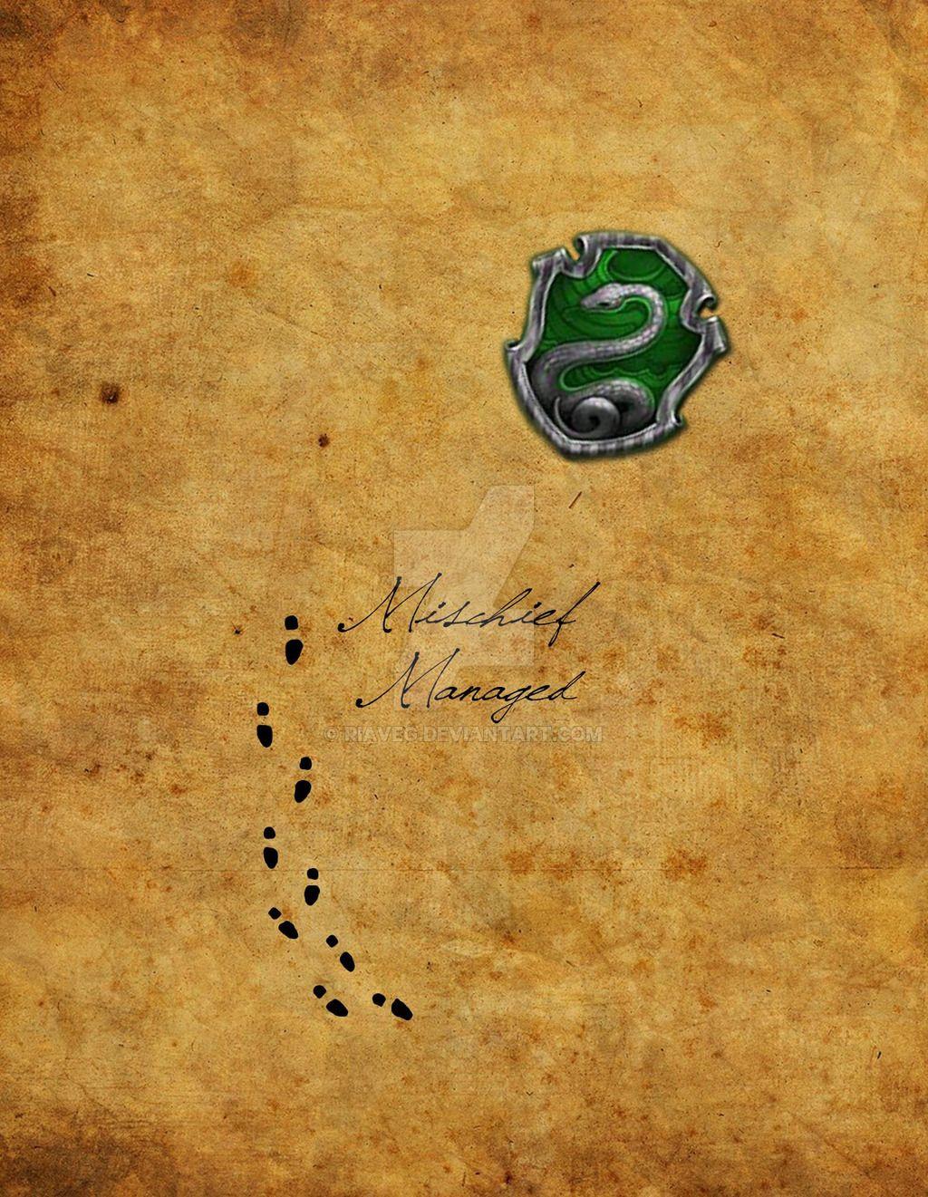 Slytherin Wallpaper Mobile Marauders map, Iphone design