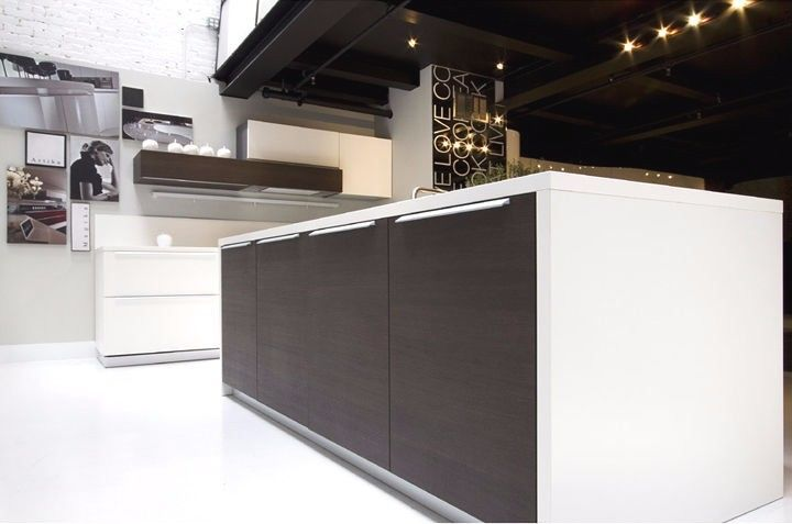 Falquon\/ Kronotex White\/ weiss Matt Klick Laminat, 300qm 8mm - küche weiß matt grifflos