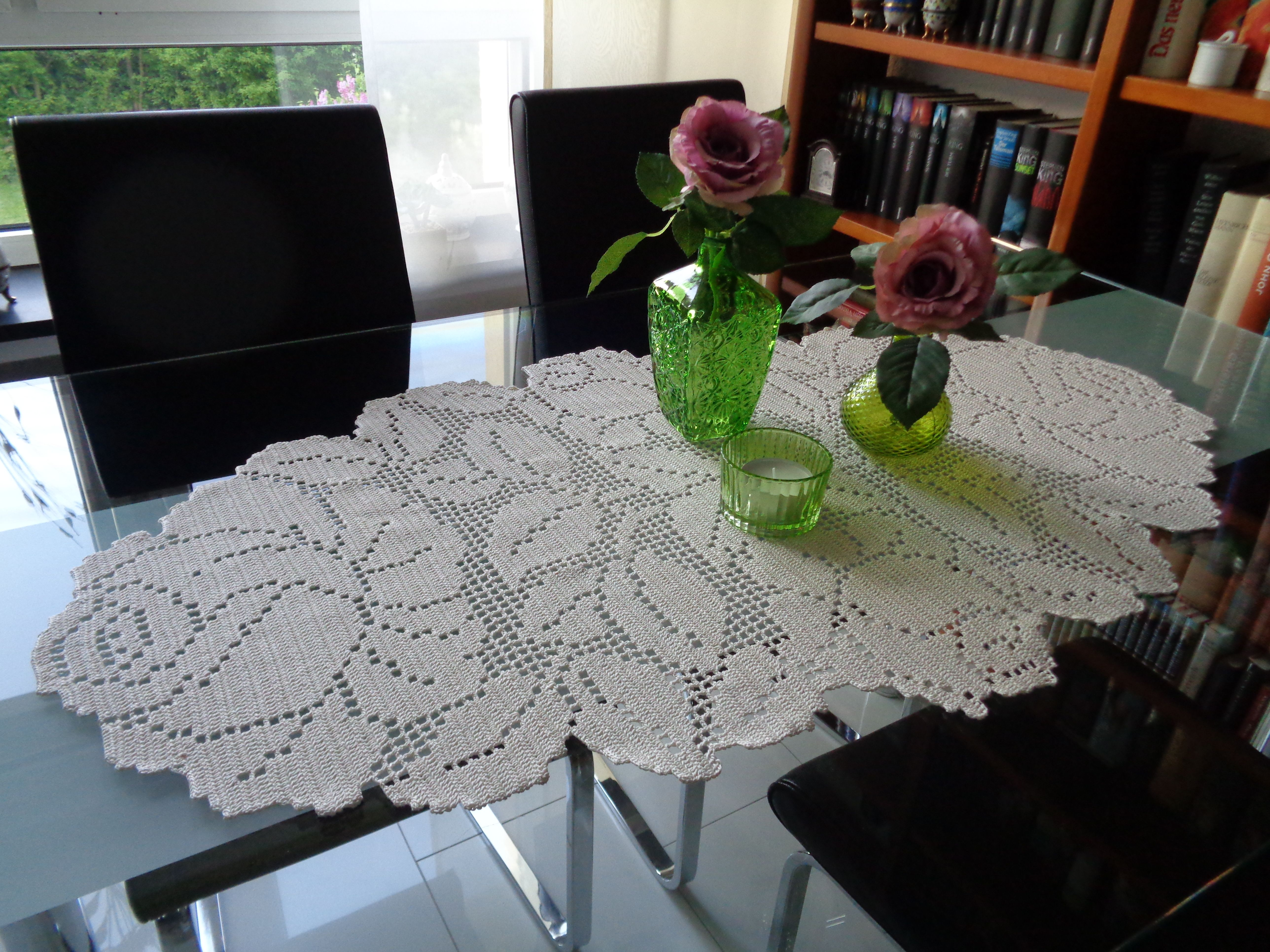 Tischläufer Tablerunner | Häkeln | Pinterest | Häkeln