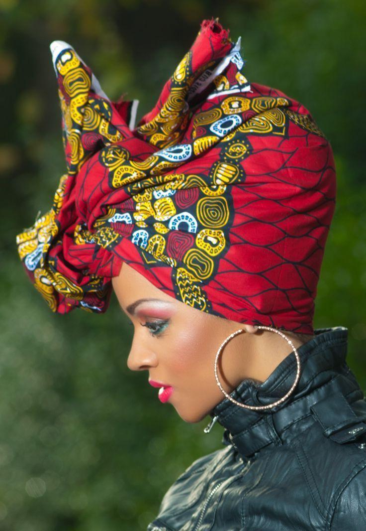 Ein stilvoller Look für Silvester? Sollten Sie einen Turban binden #afrikanischerdruck
