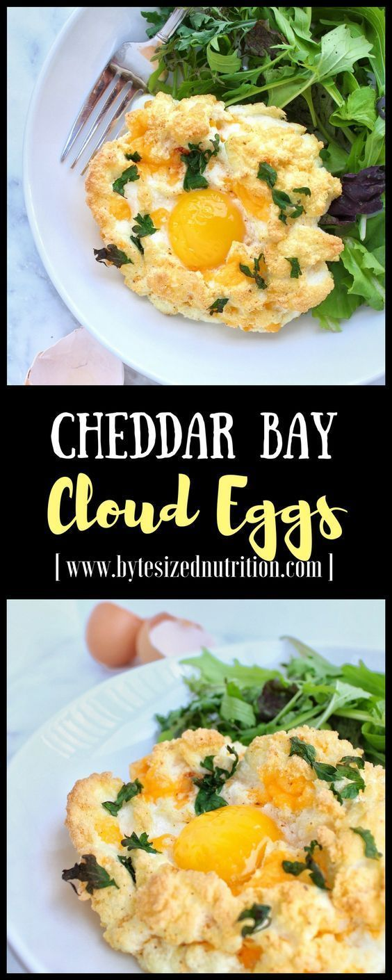 Cheddar Bay Cloud Eggs #cloudeggs Take your brunch game to the next level with Cheddar Bay Cloud Eggs - a gluten-free, protein-packed version of Red Lobster's infamous (and highly addictive) Cheddar Bay Biscuits! | www.bytesizednutrition.com #cloudeggs Cheddar Bay Cloud Eggs #cloudeggs Take your brunch game to the next level with Cheddar Bay Cloud Eggs - a gluten-free, protein-packed version of Red Lobster's infamous (and highly addictive) Cheddar Bay Biscuits! | www.bytesizednutrition.com #cloudeggs