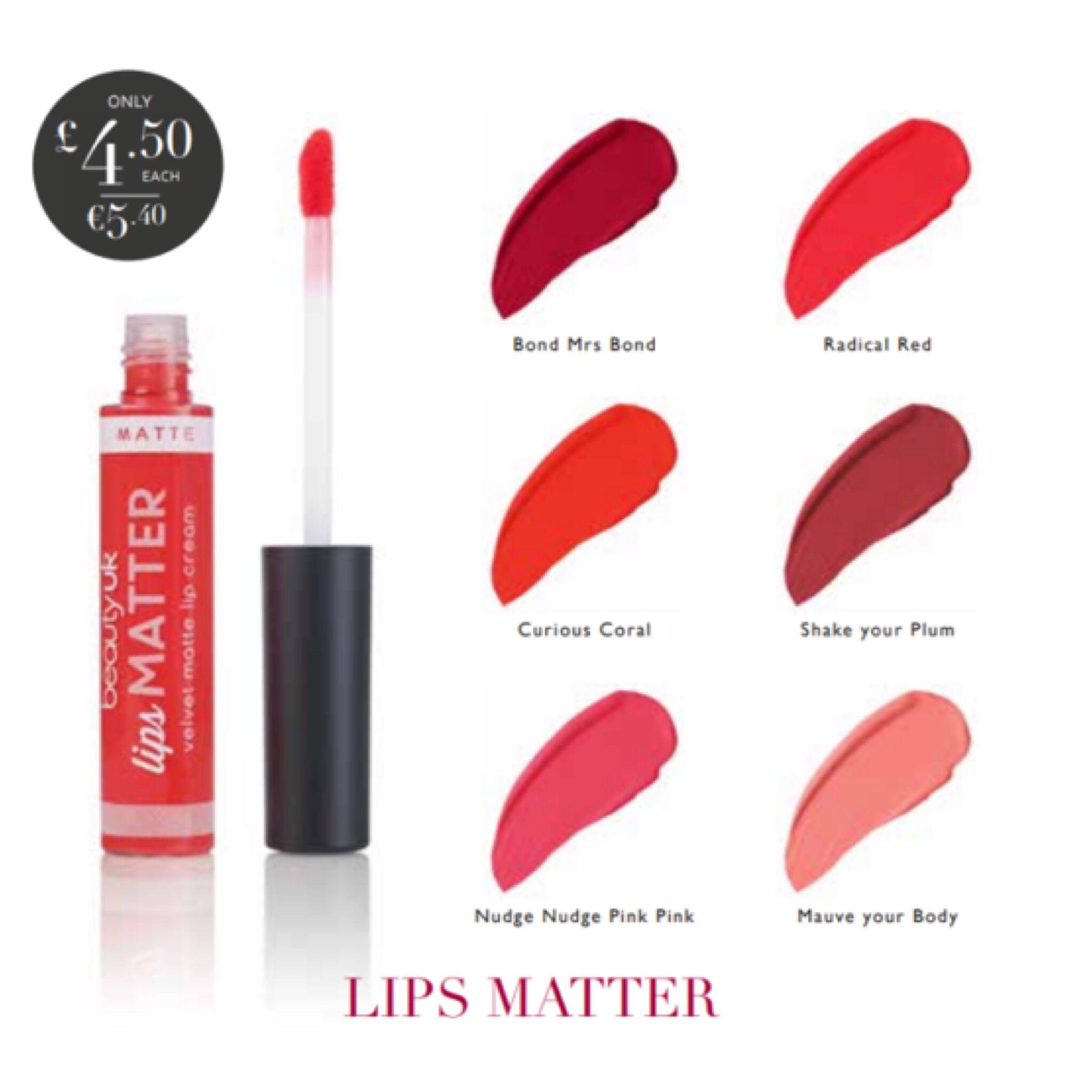 Lips Matter Vibrant Lipstick Matte Lip Cream Lip Cream