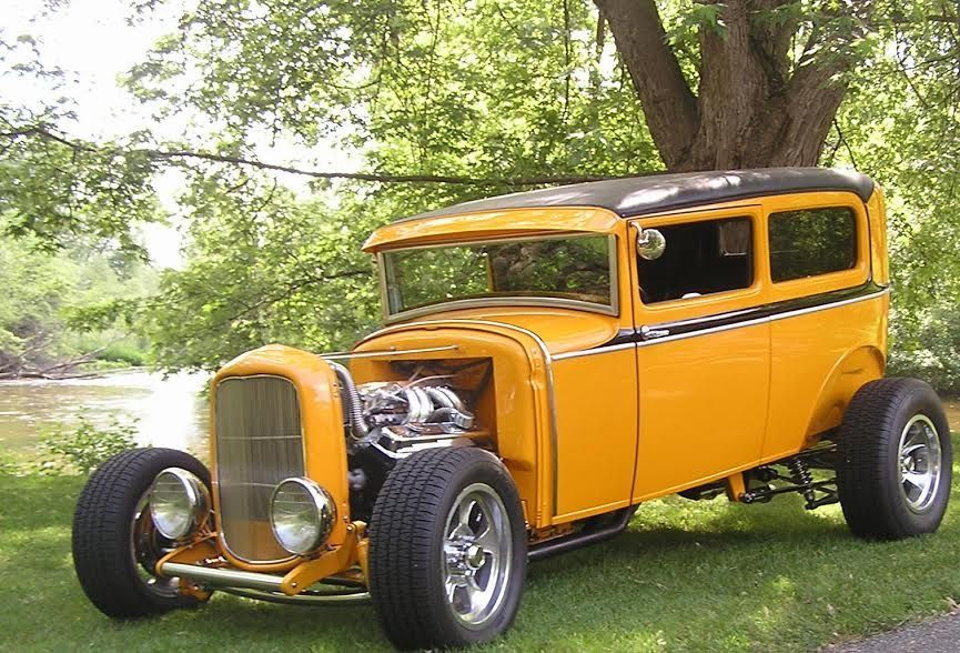 FOR SALE: 31 FORD HI END TUDOR ROD FI VETTE REAREND | HotrodHotline ...