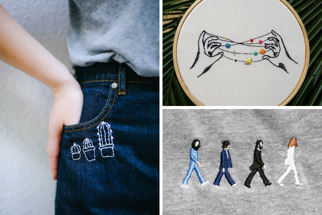 50 Easy DIY Embroidery Shirt Designs You Can Do By Hand ...