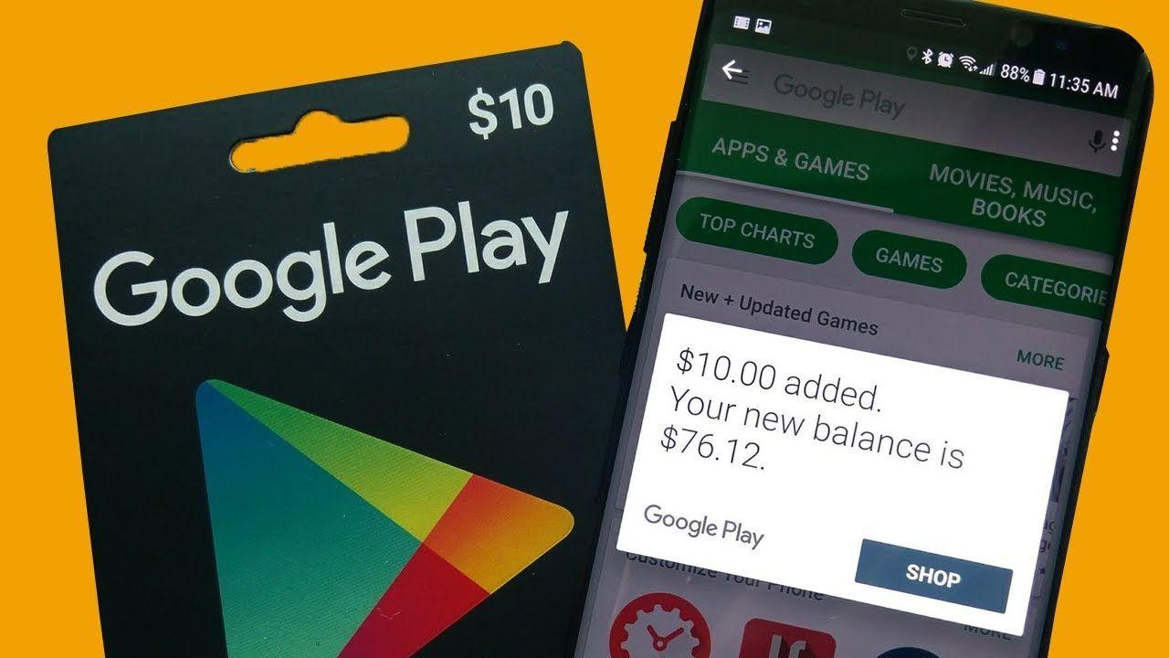 بطاقات جوجل بلاي مجانا لشحن ألعابكم Pubg Mobile Free Fire Fortnite