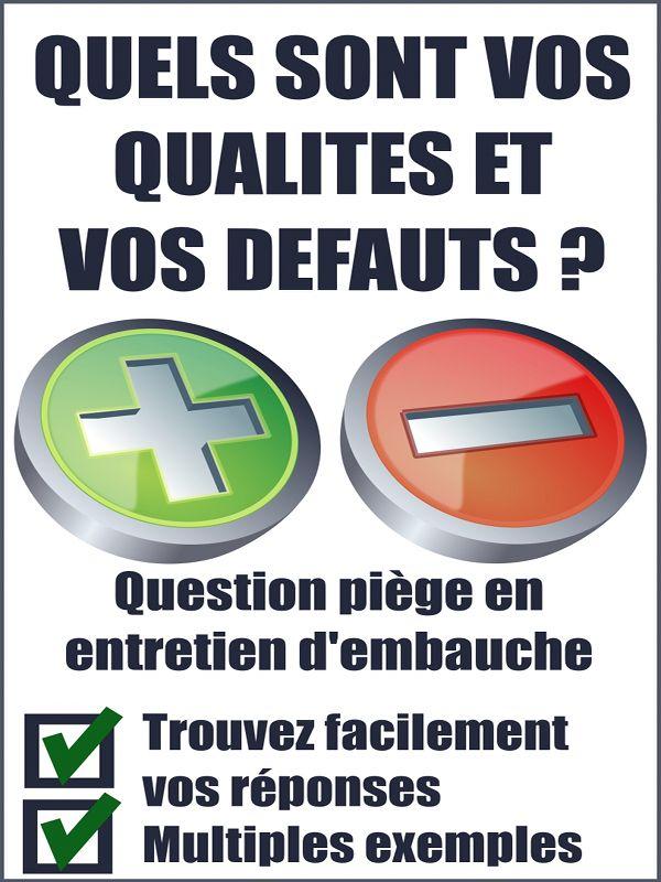 Quels Sont Les Defauts #15: Quels Sont Vos Qualités Et Vos Défauts? Disponible Sur Amazon.fr, Section  Kindle