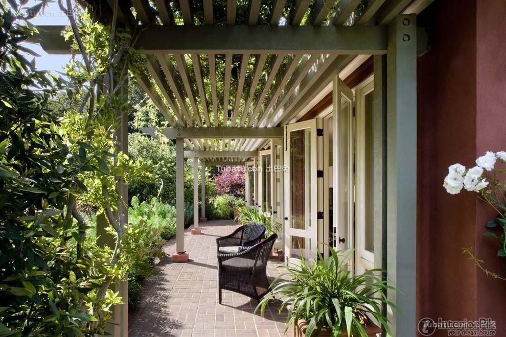 Villa First Floor Balcony Garden Design 2016 House With Porch Building A Porch Pergola With Roof