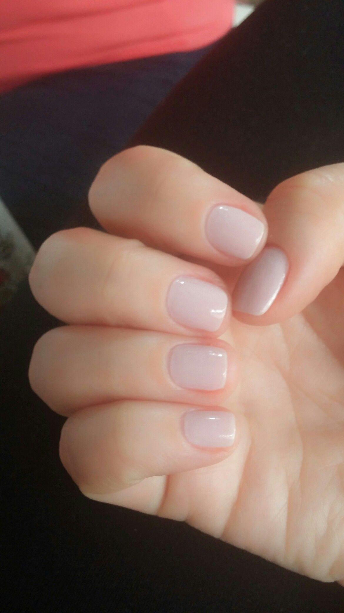 Preciosas Y Sencillas Short Gel Nails Natural Gel