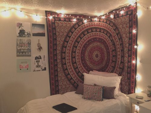Bedrooms With Tapestry Teenage Girls Google Search