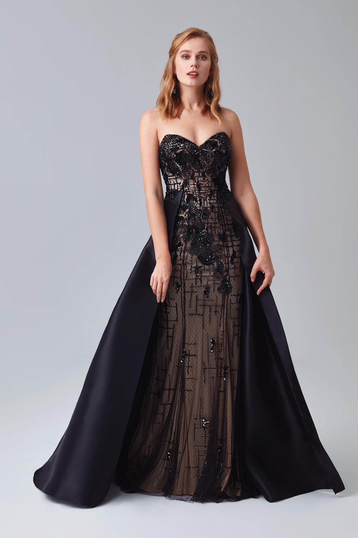 Siyah Straplez Katli Etek Abiye Elbise Mezuniyetelbisesi Mezuniyetkiyafetleri Mezuniyetabiye 2018mezuniyetelbiseleri Elbise Modelleri Elbise Resmi Elbise