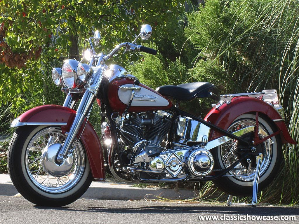 1952 Harley Davidson Fl Hydra Glide Panhead By Classic Showcase Harley Bikes Harley Davidson Motorcycles Vintage Harley