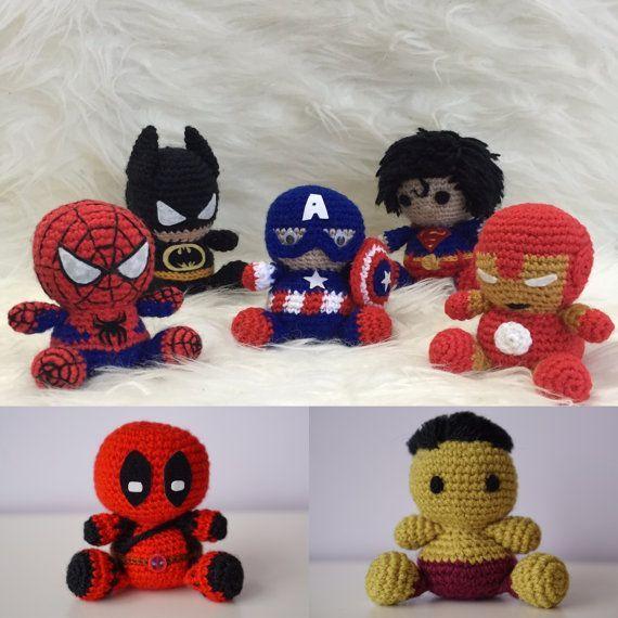 Spiderman, Batman, Captain America, Superman, Ironman, DeadPool ...