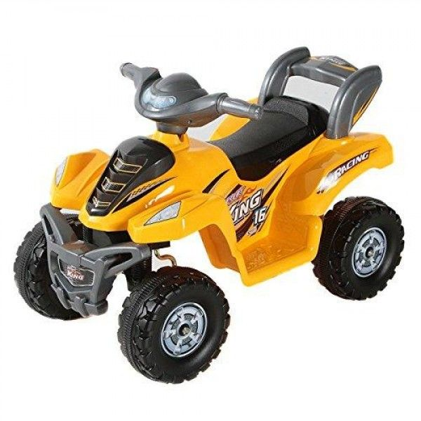 Best ride on cars little atv, yellow, 2-5 years