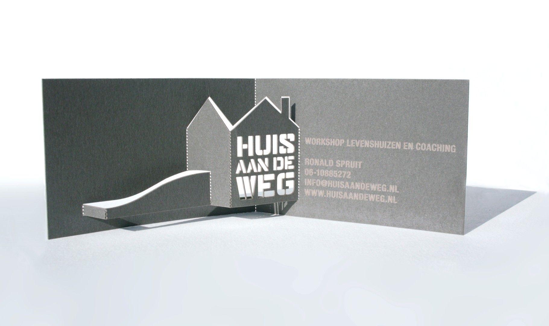 pop up visitekaartje business cards invitations