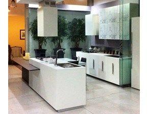 Cucina Composit modello Mood,isola con tavolo integrato,L=402 cm ...