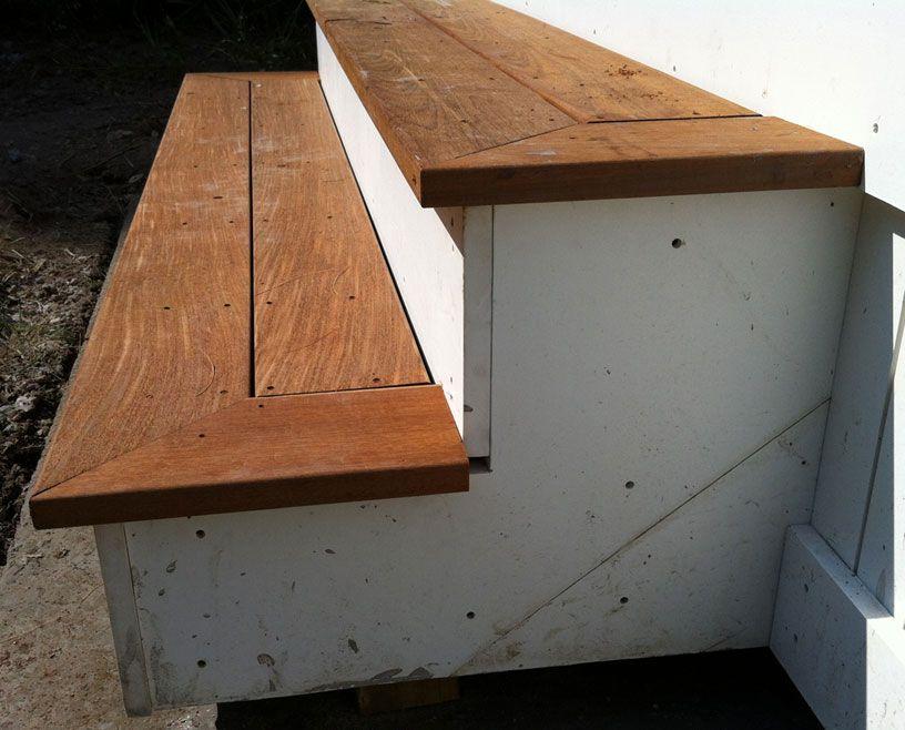 Deck Stair Tread And Riser Aesthetics - Carpentry - DIY Chatroom ...