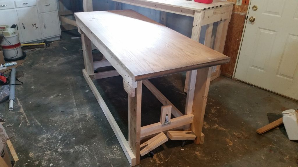 Swell 2X4 Work Bench With Nested Rolling Assembly Table Assembly Creativecarmelina Interior Chair Design Creativecarmelinacom