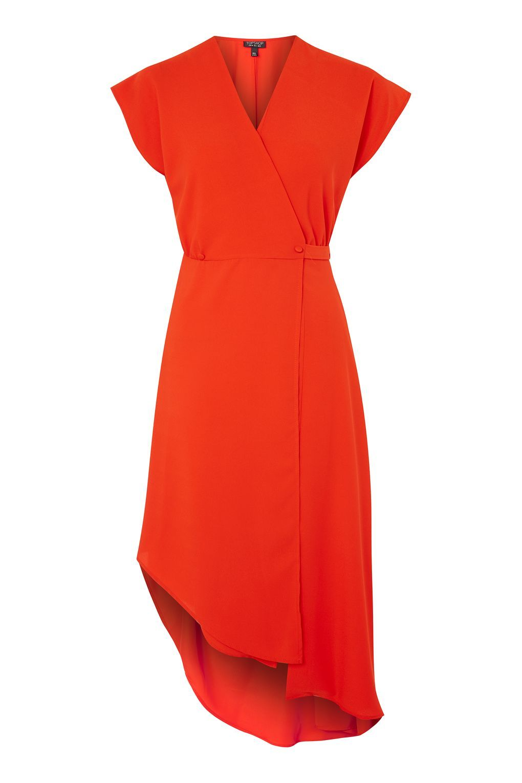 Asymmetric Wrap Dress - Dresses - Clothing - Topshop