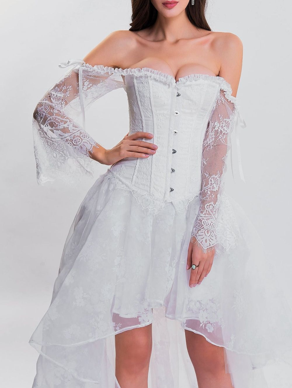 High low two piece corset dress dresses corset dress