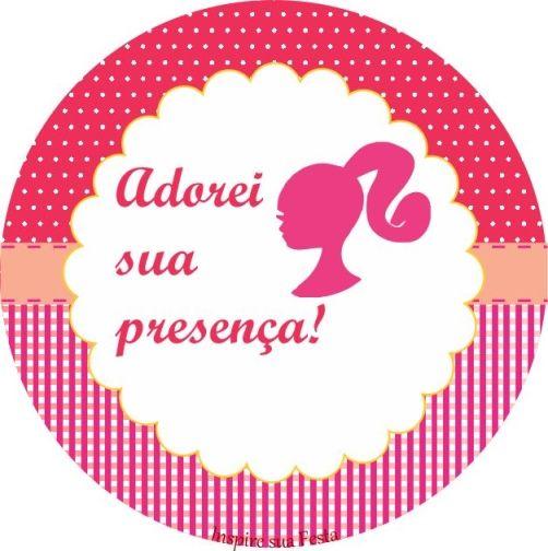 Barbie Rosa Kit Festa Gratis Para Imprimir Festa De Aniversario