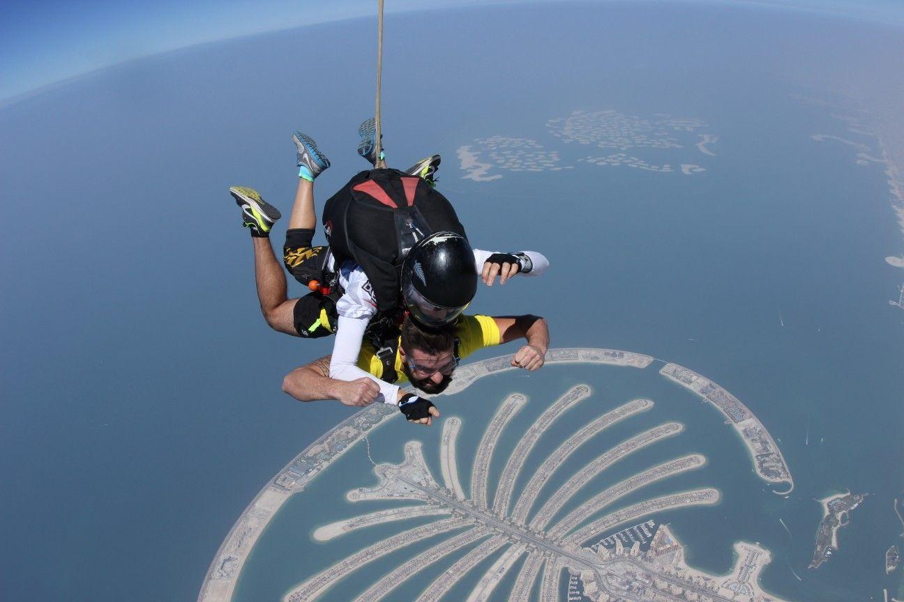 Live every single moment! Skydive Dubai