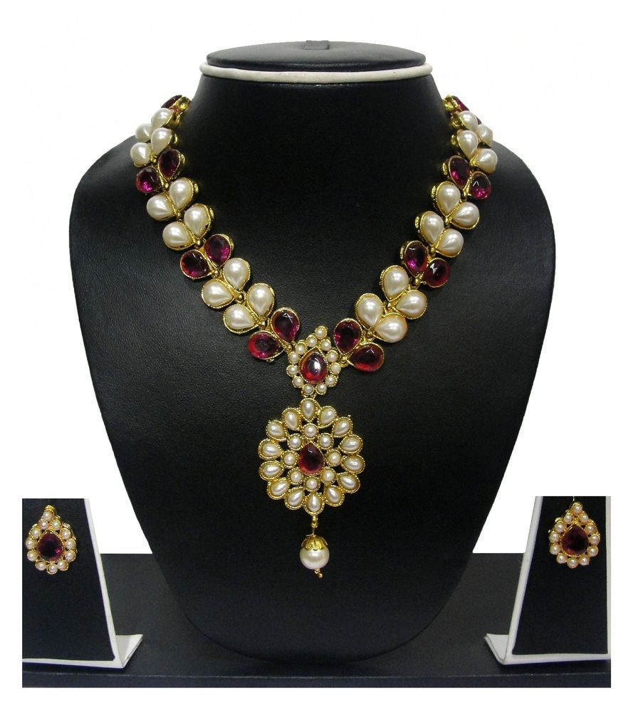 Bollywood pearl set indian jewelry by zaveri pearlszpfk