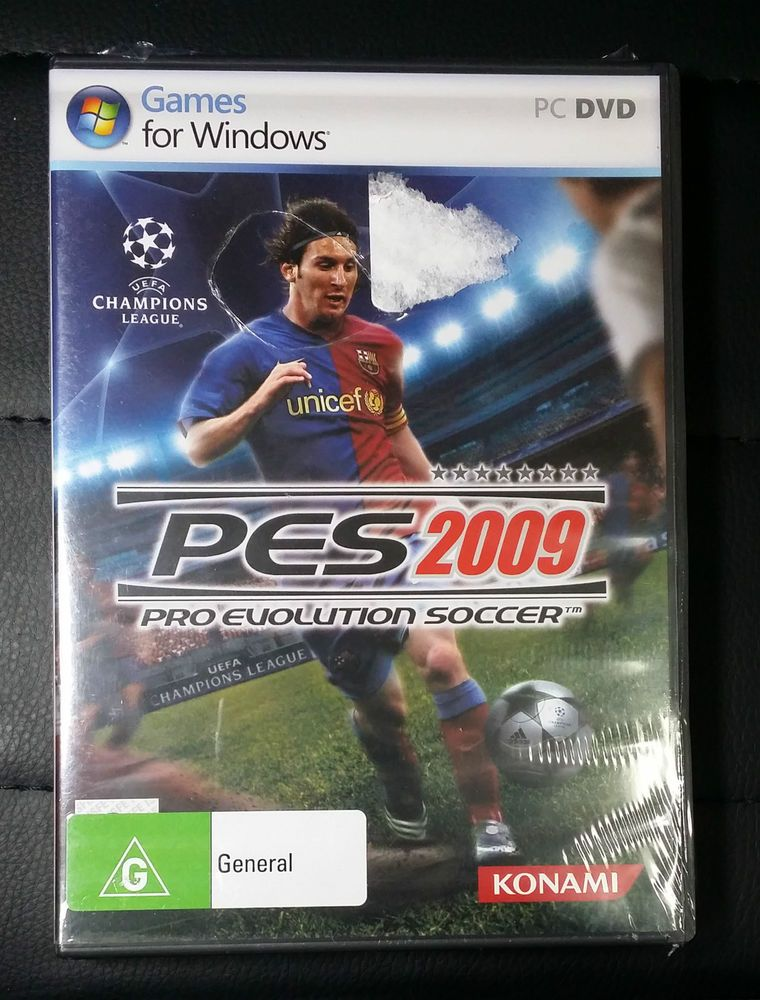 Pes 2009 Pro Evolution Soccer Pc Computer Game Brand New Sealed Free Postage Pro Evolution Soccer Evolution Soccer Evolution