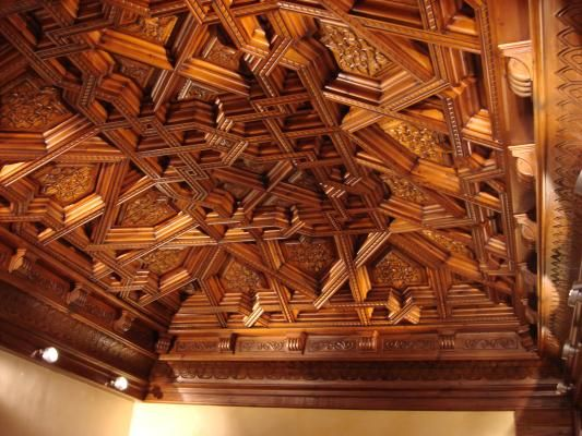 Resultado de imagen para techos artesonados de madera - Techos de madera rusticos ...
