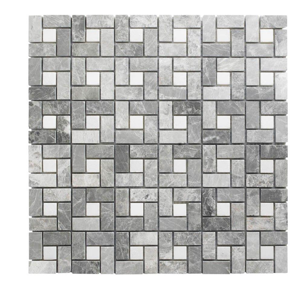 Mira grey mosaic cross hatch bathroom pinterest topps tiles bathroom tiles at topps tiles dailygadgetfo Images
