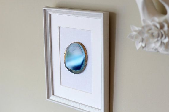 beautiful framed agate slice wall decor agate slice geode.htm framed agate slice geode home decor white or black frame  with  framed agate slice geode home decor