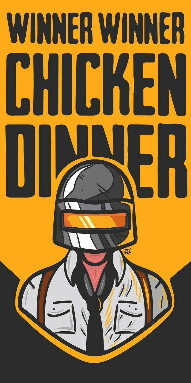 PUBG winner winner chicken dinner 4K Winner winner