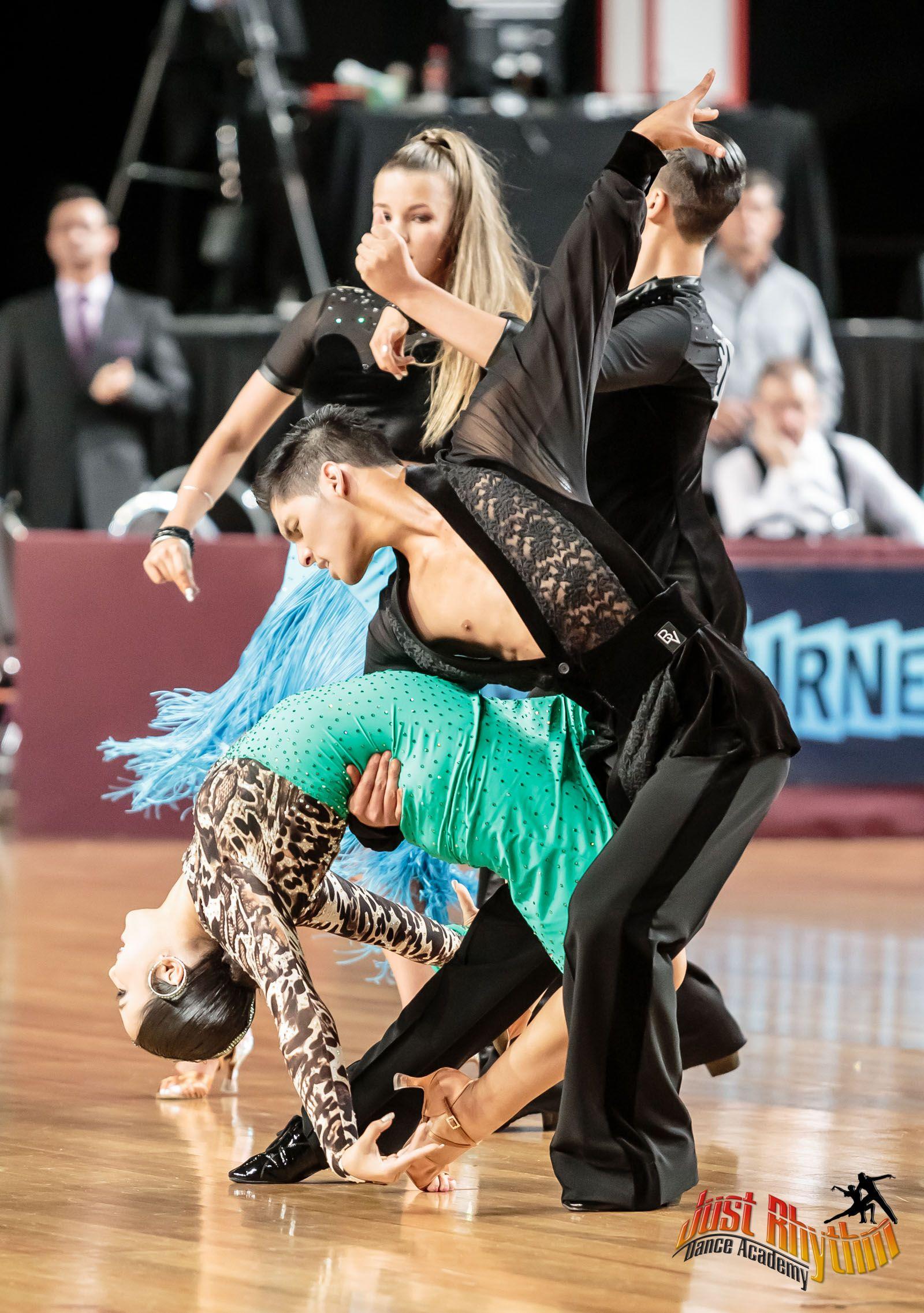 Justin Rafol & Shaniya Xuereb 2014 Australian Youth B grade Latin finalists.