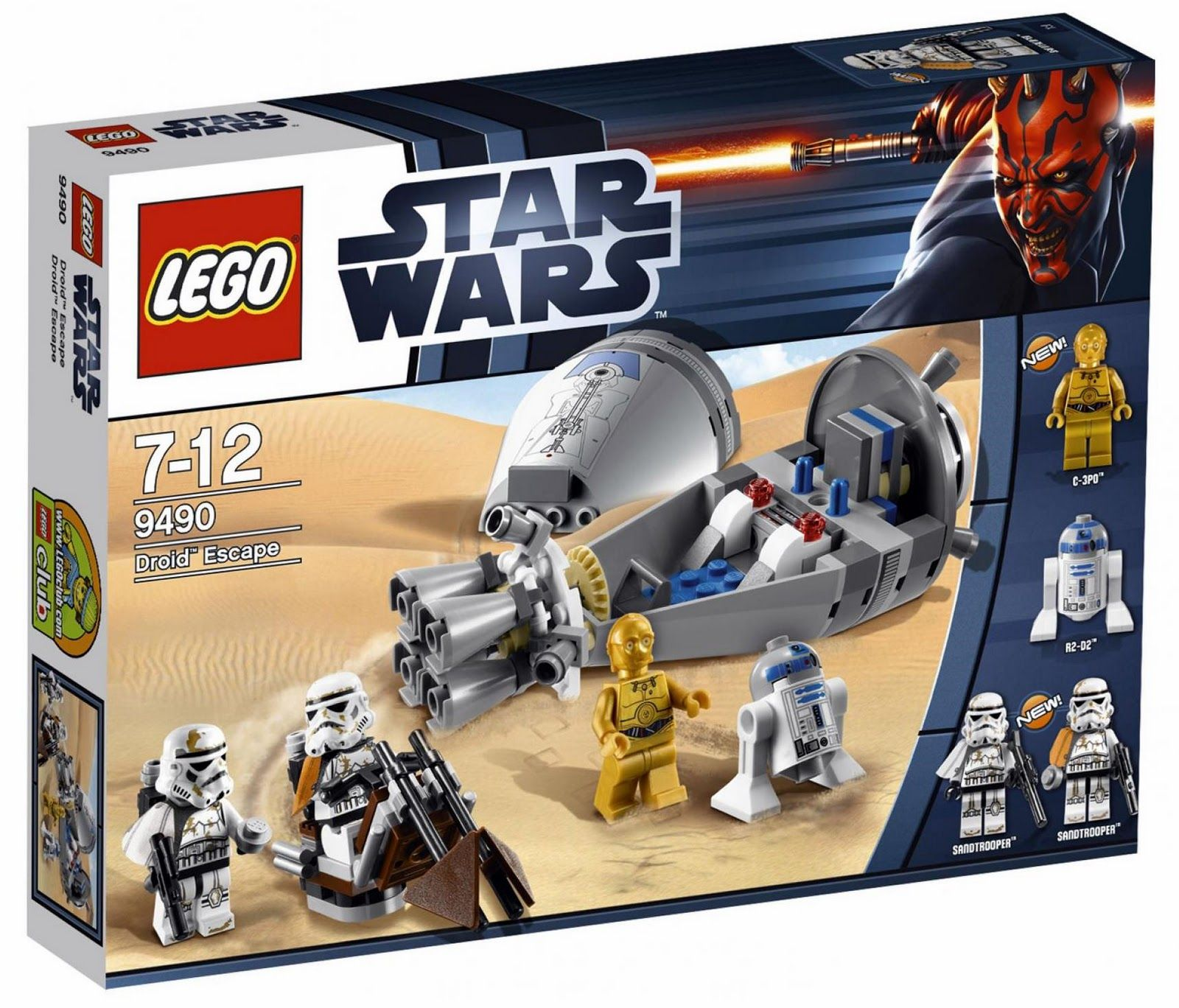 Trucs Wars Brown De The Brick Battle FoxLego 2012 PacksLes Star 34qcRjSA5L