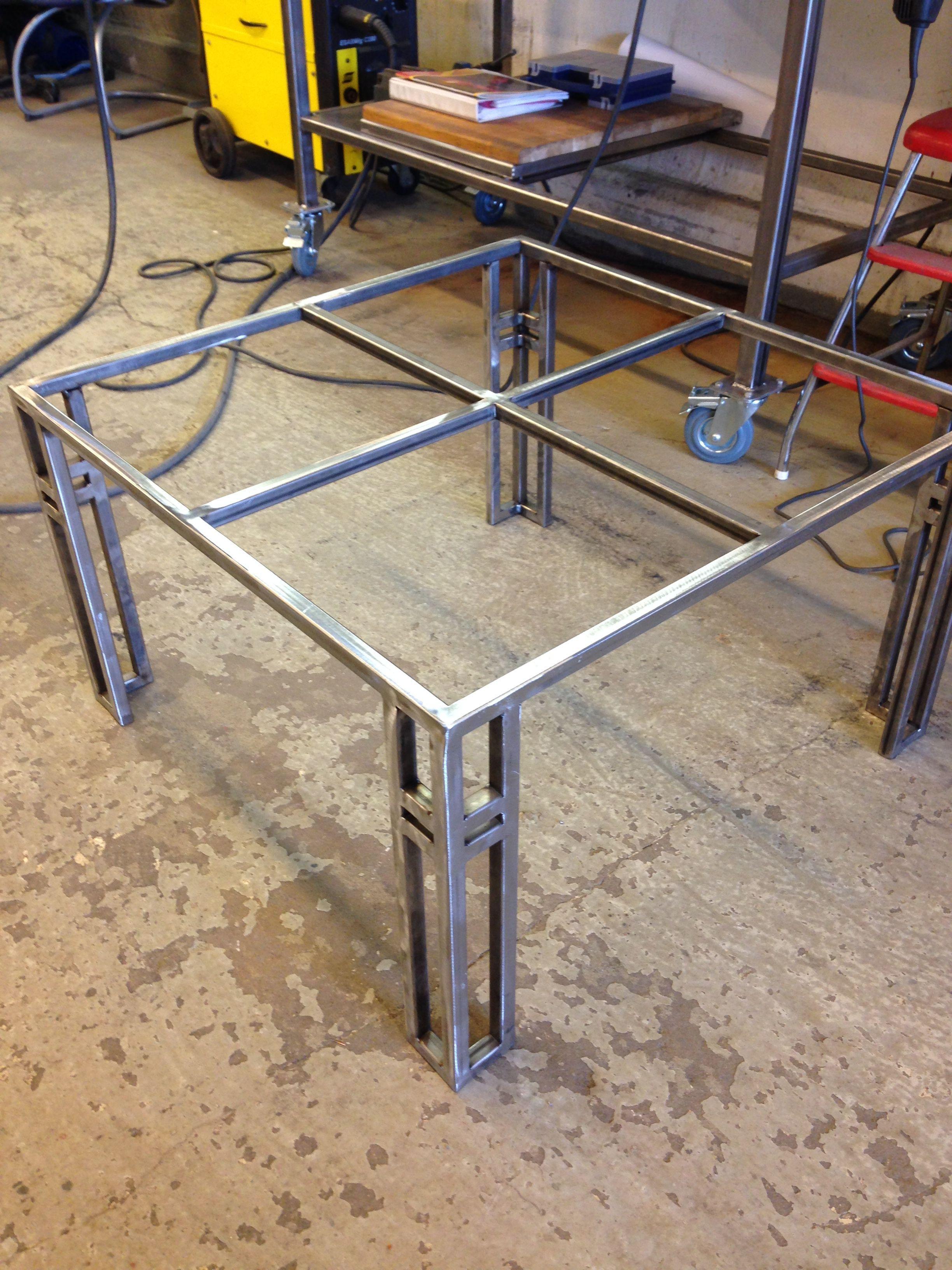 Welding Table Dengan Gambar Desain Furnitur Meja Kerja Mebel