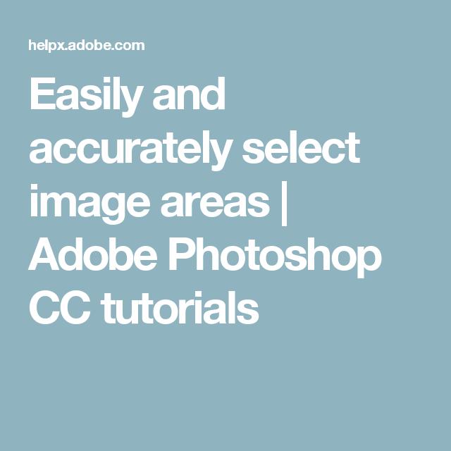 Photoshop center selection