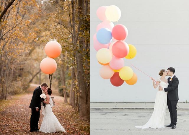 4 idee creative per realizzare delle #decorazioni per le #nozze con i #palloncini, guardatele qui. #wedding   >> http://bit.ly/1DdN3Dl